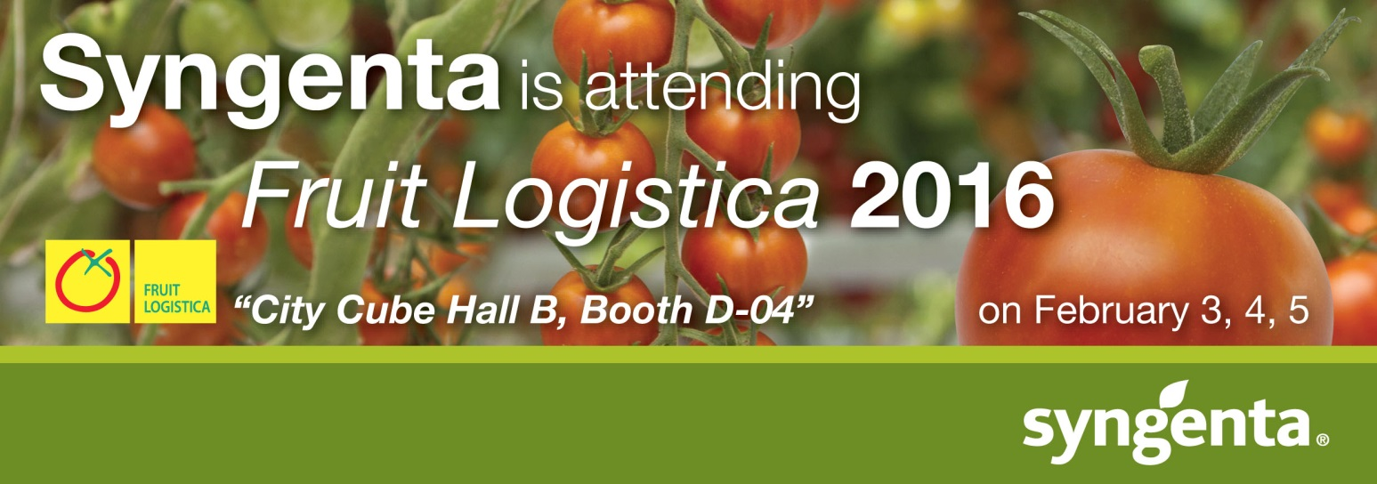 Syngenta @Fruit Logistica 2016